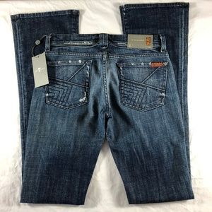 7 for all Mankind RARE Quilt Pocket Rocker SCL 27